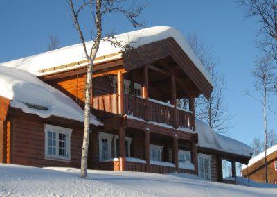 Hytte bygget i Bualie