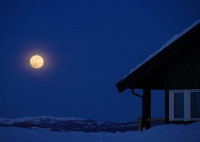 Kveldsstemning i Bualie