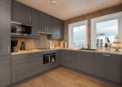 A-bygg kjøkken
